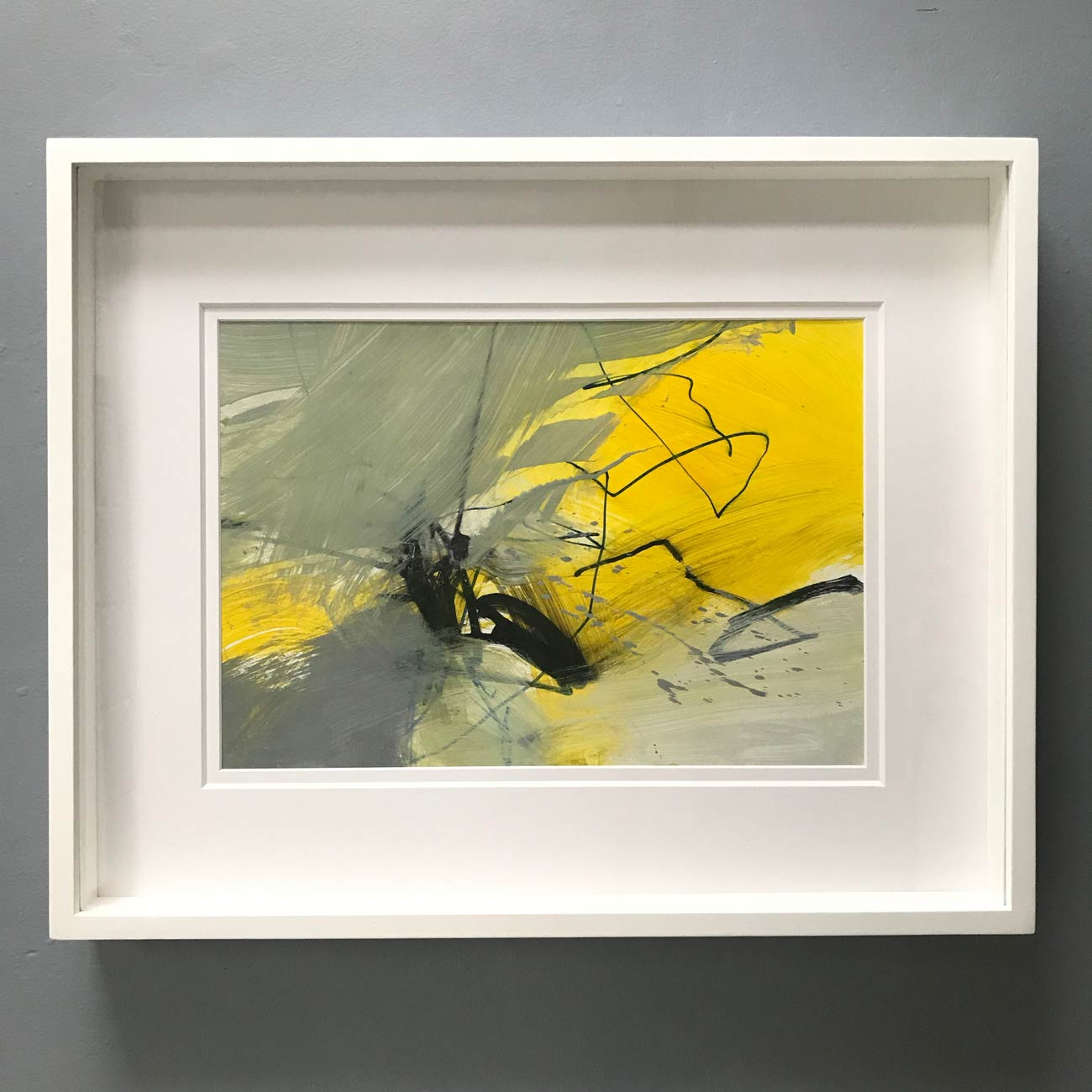 Falling Leaves framed by Neil Canning. Studio Collection Winter 2020
