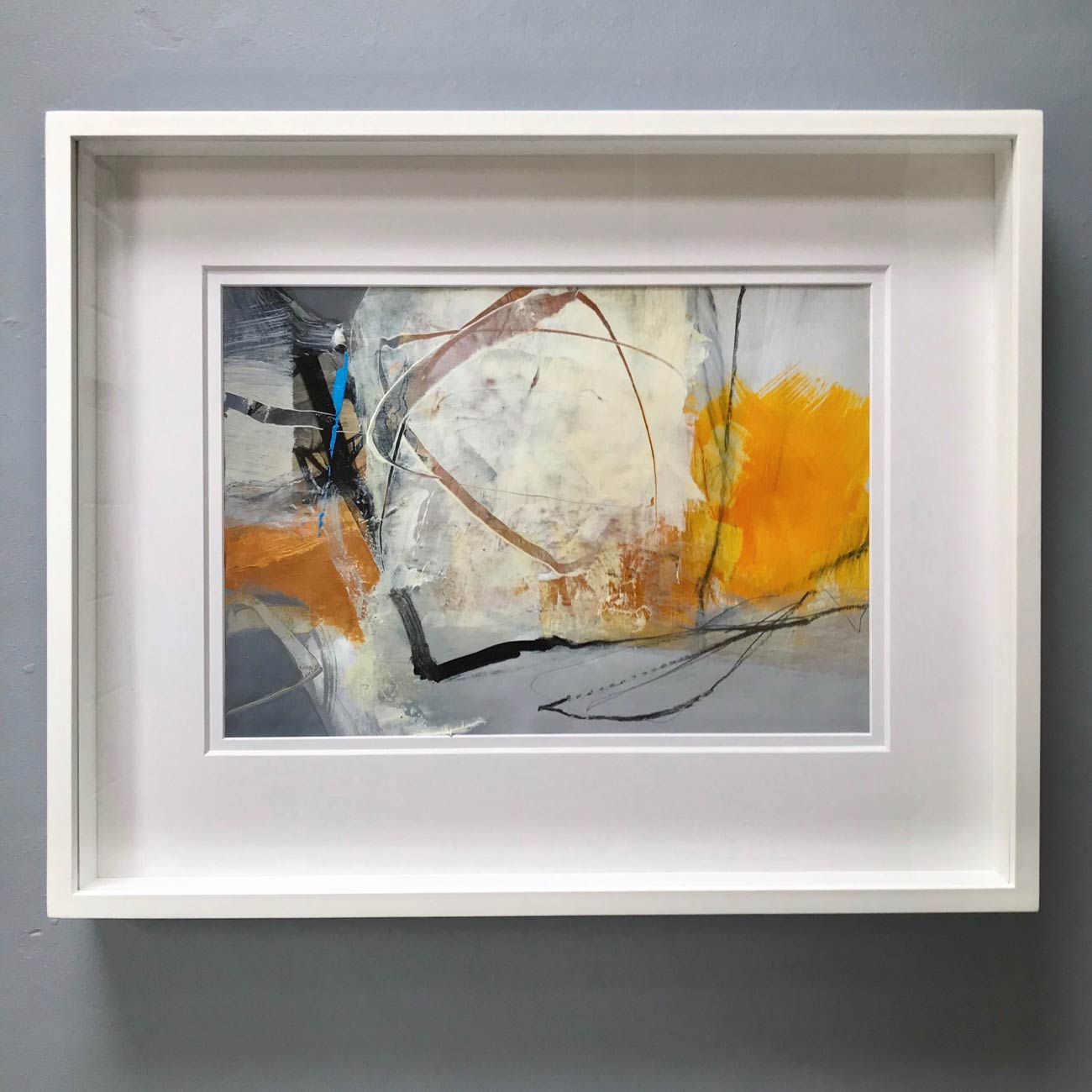 Summerscape framed by Neil Canning. Studio Collection Winter 2020