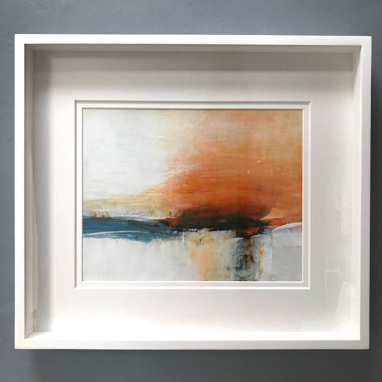 Earth Song - Evening framed by Neil Canning. Studio Collection Winter 2020