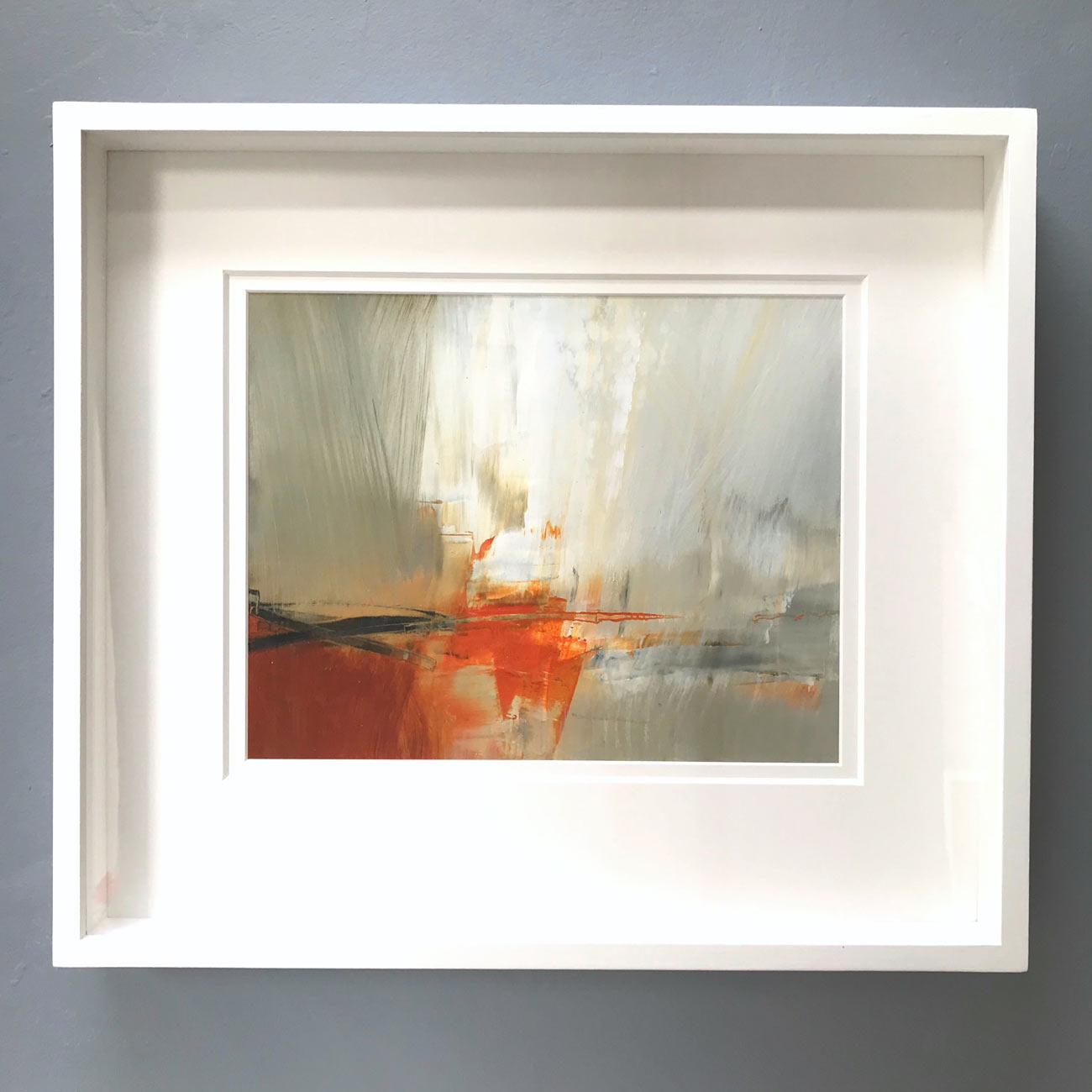 Earth Song framed by Neil Canning. Studio Collection Winter 2020
