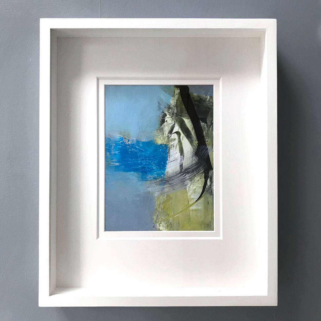 Slip Stream framed by Neil Canning. Studio Collection Winter 2020